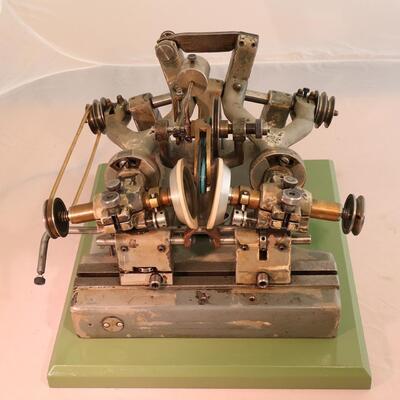 Doppel-Rolliermaschine
