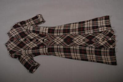 Kleid mit Karomuster für Damen