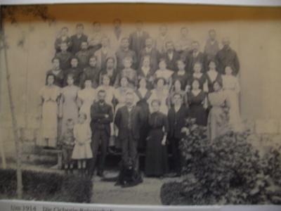 Um 1914: Die Cichorie-Belegschaft