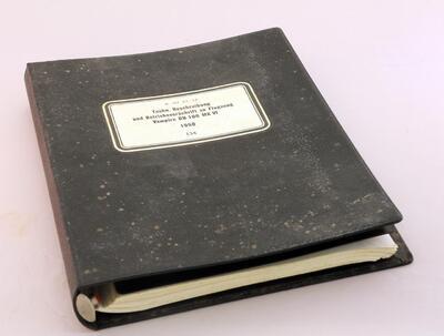 Techn. Beschreibung und Betriebsvorschrift zu Flugzeug Vampire DH 100 MK VI 1950 134