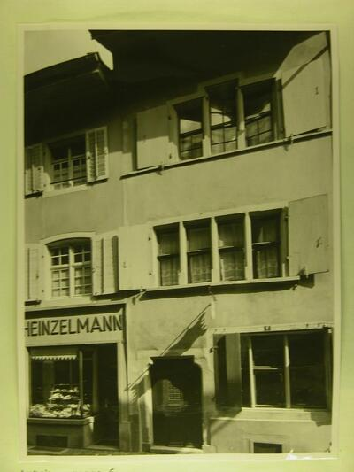 Fotografie   Altstadt, Amtshausgasse, Gebäude
