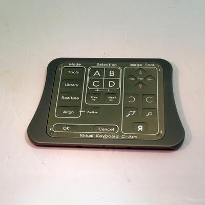 Virtuelle Tastatur für navigierte Chirurgie