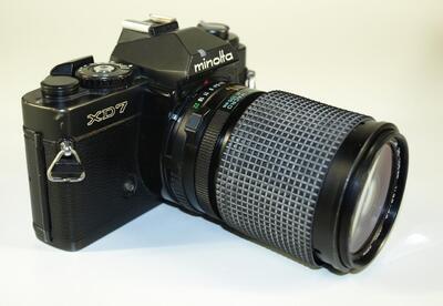 Minolta XD7 - analoge Spiegelreflexkamera   Kamera