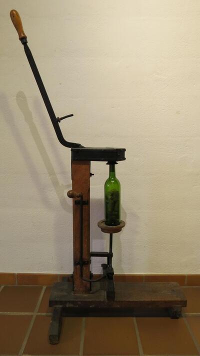 Flaschenzapfmaschine