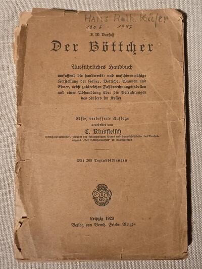 Handbuch Der Böttcher