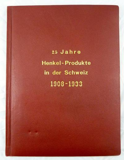 HENKEL Firmenschrift 1908-1933