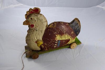 Spielzeug-Huhn