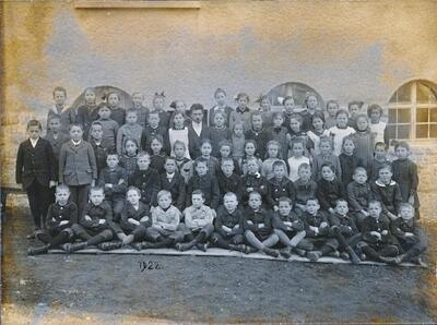 Schulfoto 1922