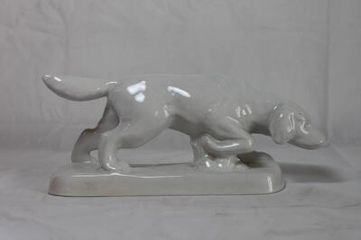 Weisser Labrador Laufner Tierli-Sammlung