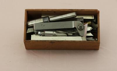 Werkzeuge zu Drehbank