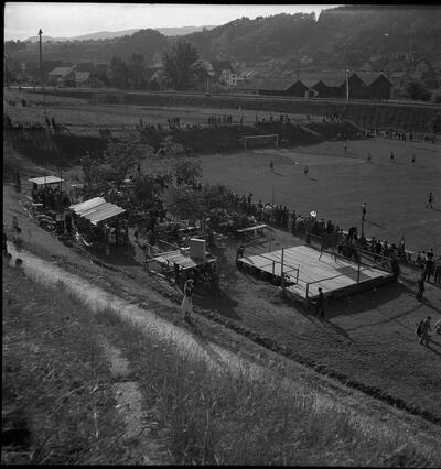 Fussballplatz im Nau, Laufen
