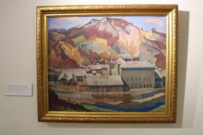 Zementfabrik Liesberg 1928