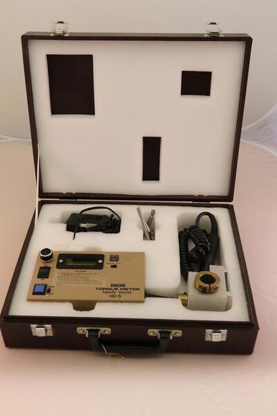 elektronisches Drehmoment Messgerät im Koffer