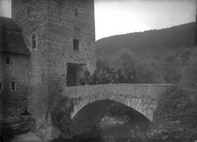 Schloss Zwingen Brücke