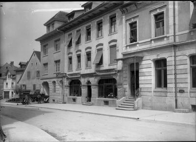 Delsbergerstrasse, Richtung Vorstadtplatz