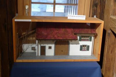 Modell des Bürgerhauses Pratteln