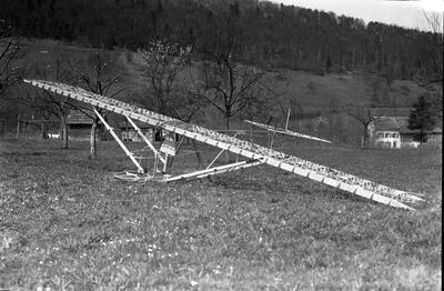 Erstes Segelflugzeug der Segelfluggruppe Dittingen Hol's der Teufel
