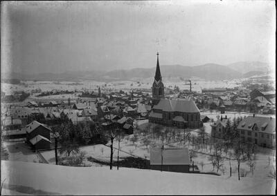 Laufen, Winterlandschaft