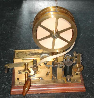 Telegraphenschreiber