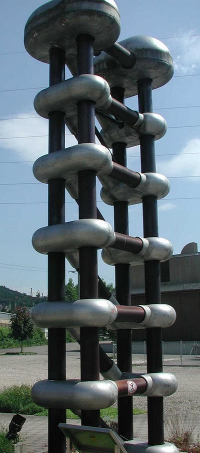 Sechsstufiger Kaskadengleichrichter Bestandteil eines Neutronengenerators
