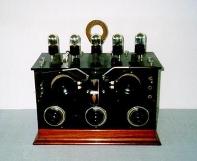 Radiogerät mit Rückkopplungsspulen
