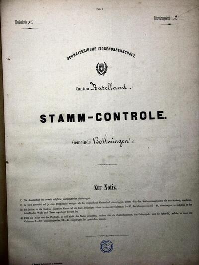 Stamm-Kontrolle