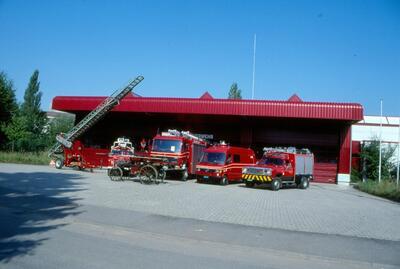 Fotografie (Dia) | Feuerwehr