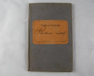 Schiessbüchlein