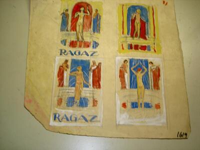 Plakat - Bäder in Ragaz
