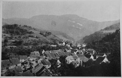 Fotografie Reigoldswil um 1880