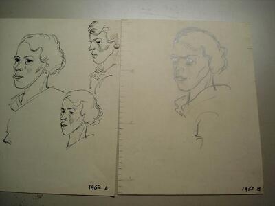 Frau - Porträt, Emma Ritter