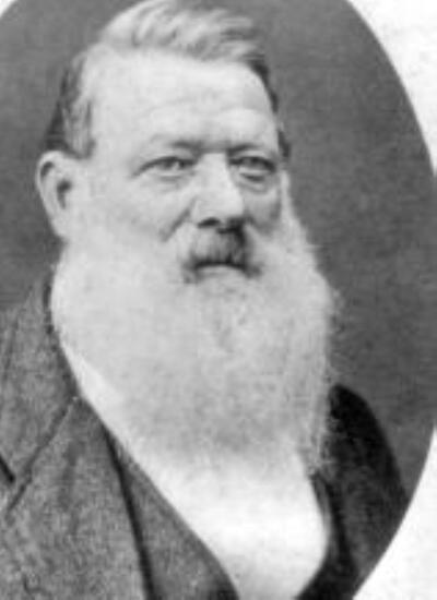 Karl Spitteler (Vater) mit weissem Bart