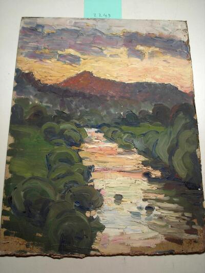 Landschaft CH - Sonnenuntergang