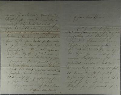 Brief (undatiert) - von M. Steffensen-Burckhardt