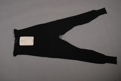 Lange Unterhose, schwarz, für Damen