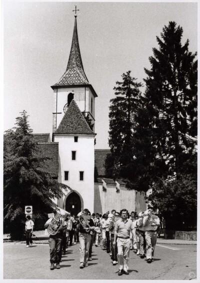 Fotografie   Musikverein am Banntag
