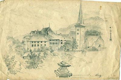 Zeichnung, Köniz