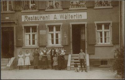 Fotografie   Restaurant A. Wälterlin