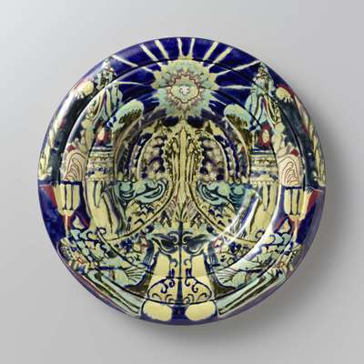 Decorative plate with the 'Day' pattern