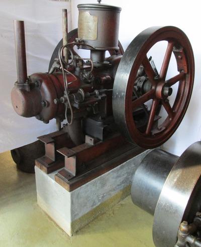Patent Wohanka és Társa Comp. típusú stabilmotor
