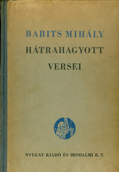 Babits Mihály hátrahagyott versei