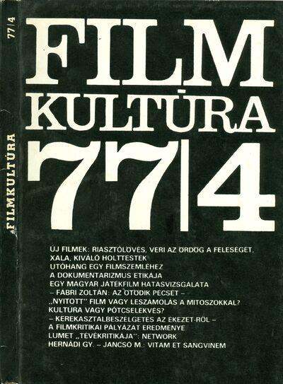 Filmkultúra 1977/4. szám
