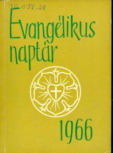 Evangélikus Naptár 1966