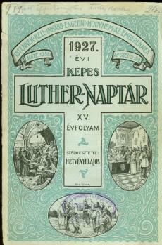 Képes Luther Naptár 1927