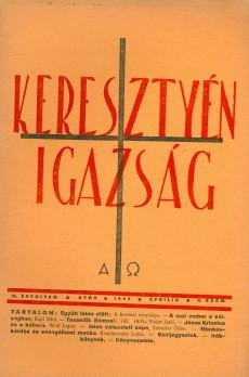 Keresztyén Igazság 1942 (április)