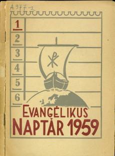 Evangélikus Naptár 1959
