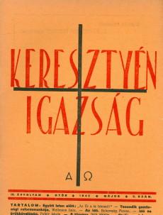 Keresztyén Igazság 1942 (május)