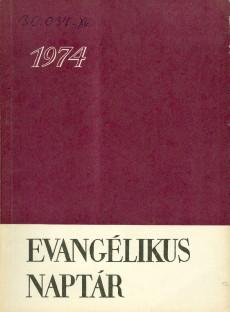 Evangélikus Naptár 1974