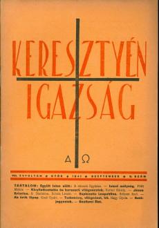 Keresztyén Igazság 1941 (szeptember)