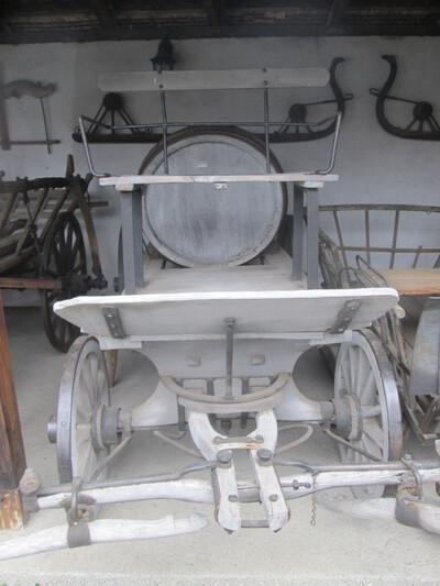 Vízszállító lajtoskocsi
